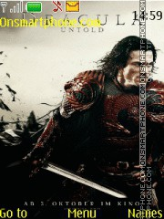 Dracula Untold theme screenshot
