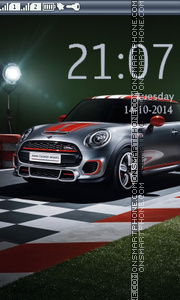 Mini Cooper theme screenshot