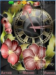 Flowers tema screenshot