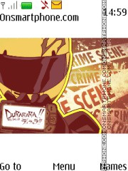 Durarara theme screenshot