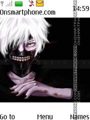 Tokyo Ghoul tema screenshot