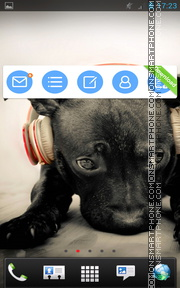 Puppy 10 tema screenshot