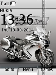 Sport Bike 02 theme screenshot