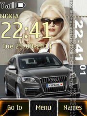 Audi Q7 08 theme screenshot