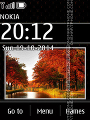 Autumn Slides 2 theme screenshot
