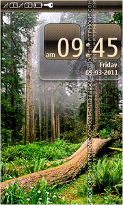 Forest 07 theme screenshot