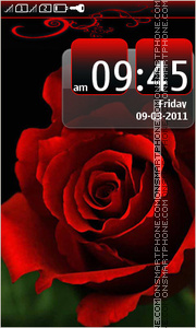 Rose 12 theme screenshot