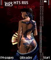 Capture d'écran Tattoo thème