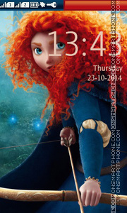Brave tema screenshot