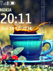 Black Tea tema screenshot