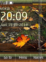 Autumn leaf 06 theme screenshot
