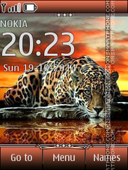 Leopard 06 theme screenshot