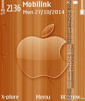 Glass apple theme screenshot
