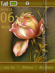 Autumn Rose tema screenshot
