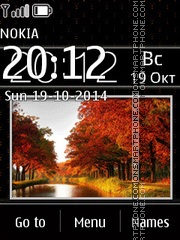 Autumn Slides tema screenshot