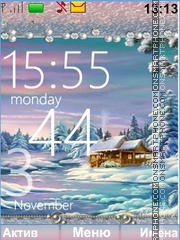Winter Landscape theme screenshot