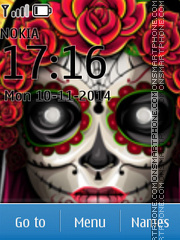 La Catrina theme screenshot