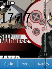 Soul Eater Evans theme screenshot