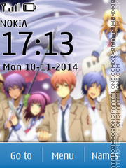Angel Beats theme screenshot