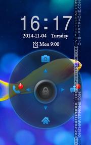 Скриншот темы Locker Theme40