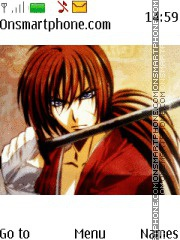 Rurouni Kenshin theme screenshot