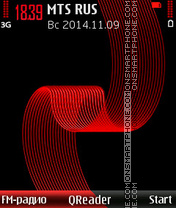 Red-Tape theme screenshot