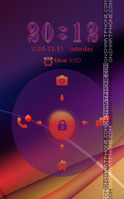 Locker Theme52 theme screenshot