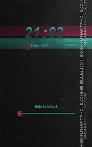 Locker Theme55 theme screenshot