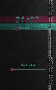 Скриншот темы Locker Theme55