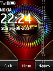 Nokia Lumia 535 Colors theme screenshot