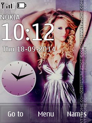 Taylor Swift 06 tema screenshot