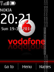 Vodafone 06 tema screenshot
