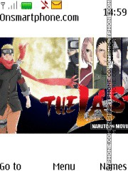 Last Naruto Movie theme screenshot