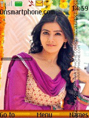 Samantha Ruth Prabhu 2014 theme screenshot