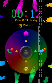 Скриншот темы Locker Theme61