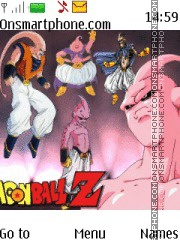 Dragon Ball z Majin Boo theme screenshot
