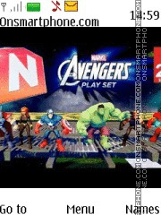 Avengers theme screenshot