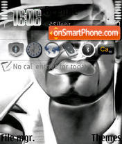 Tupac 01 theme screenshot