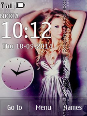 Taylor Swift 07 tema screenshot