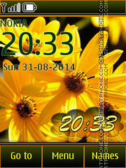Rudbeckia theme screenshot