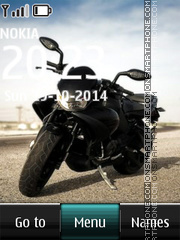 Motorbike 01 theme screenshot