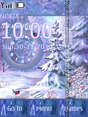 Winter theme screenshot