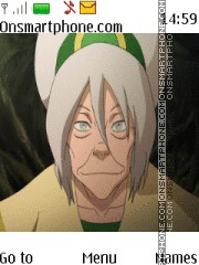 Avatar Toph Beifong Old tema screenshot