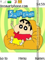 Shin Chan theme screenshot