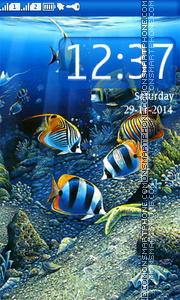 Underwater theme screenshot