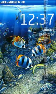 Скриншот темы Underwater