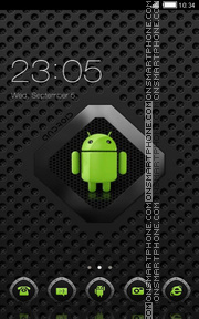 Android Logo tema screenshot