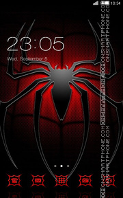 Spiderman theme screenshot