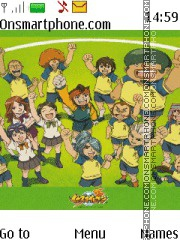 Inazuma Eleven tema screenshot