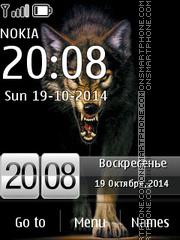 Скриншот темы Wolf Swf 01